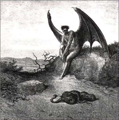 The Real Lucifer Artist's concept of lucifer