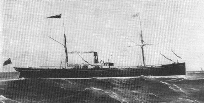 El Ulysses antes del accidente